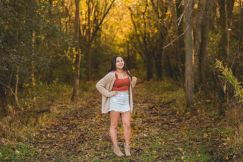 Fall senior session at Leroy Oaks in St. Charles IL. Composed and Exposed Photography #SeniorSession #SeniorSessionPhotographer #St.CharlesPhotographer