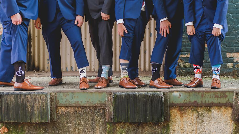 Groomsmen details-socks