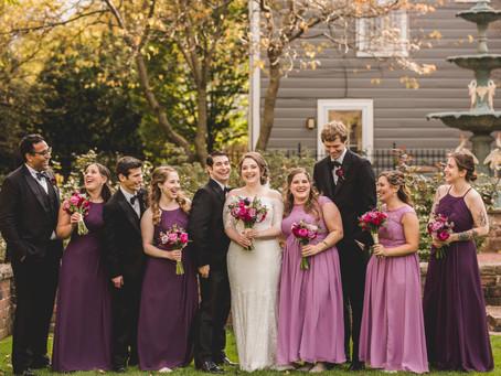 Evanston IL Fall Wedding