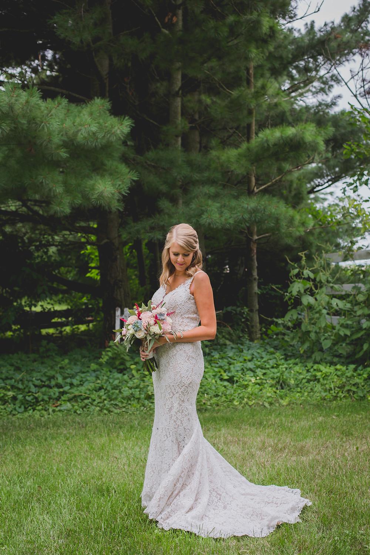 Northfork Farms Wedding - Oswego IL Bride