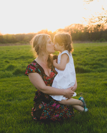 Sunset Mommy and me session
