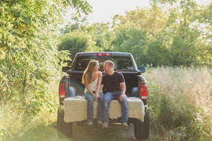 Back of Truck Engagement Session