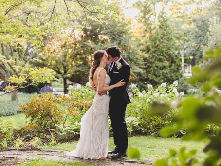 Romantic Outdoor Wedding-Cheney Mansion, Oak Park IL