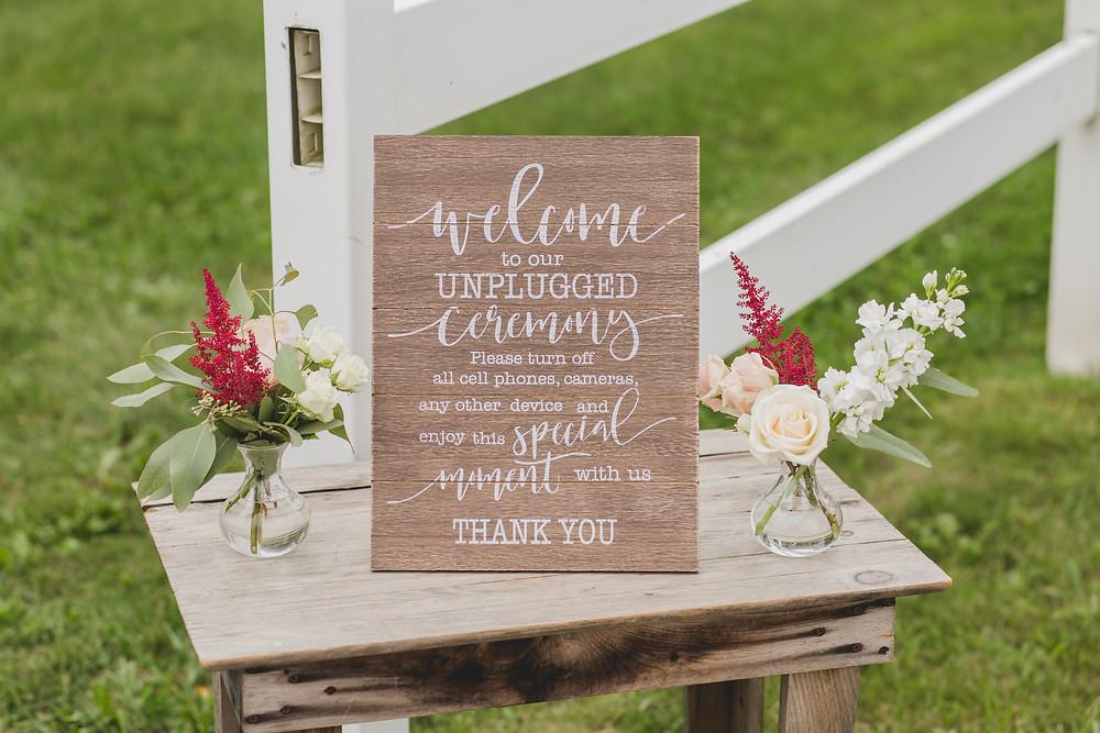 Northfork Farms Wedding - Oswego IL Ceremony