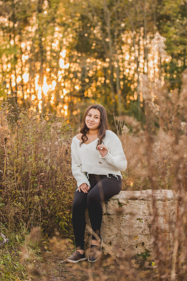 sunset senior session. Composed and Exposed Photography