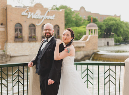 Charming Music Themed Wedding-Baker Community Center-Saint Charles, IL