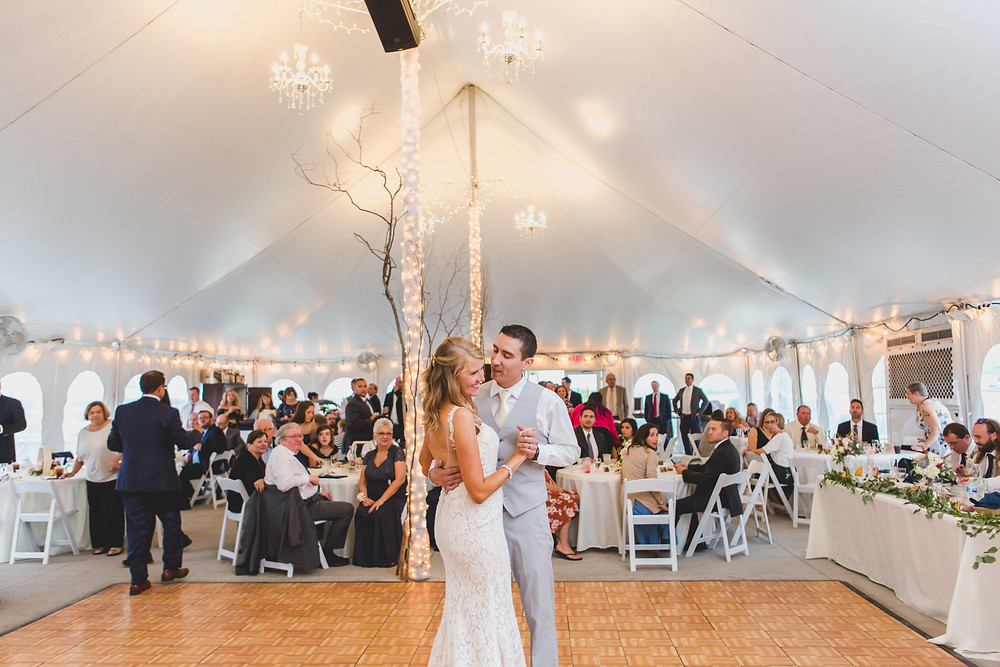 First dance - Northfork Farms Wedding - Oswego IL