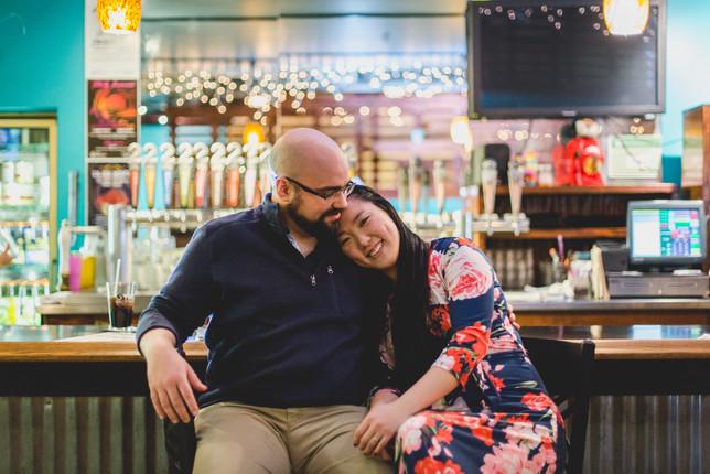 Bar Engagement Session