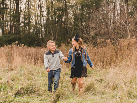 Brooklyn and Mason -Fall Session Leroy Oaks St. Charles IL