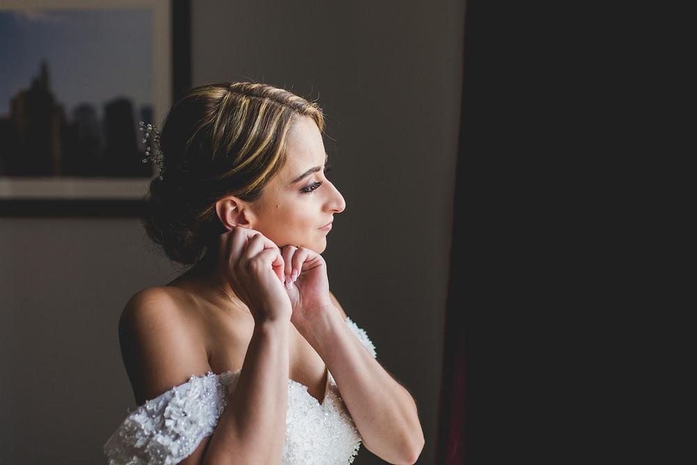 Bride getting ready, Wedding photography, Composed and Exposed Photography, Wedding Photographer, Chicagoland wedding photographer