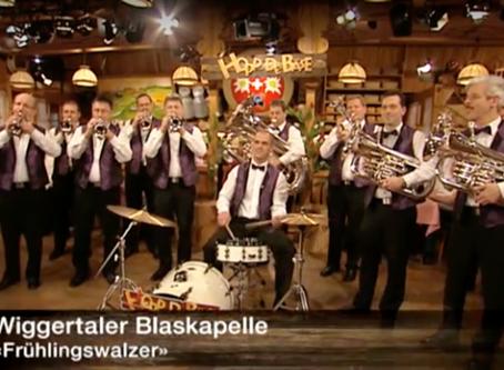 Wiggertaler Blaskapelle im 'Hopp de Bäse'