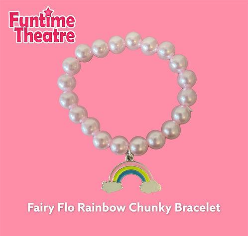 Rainbow Chunky Bracelet