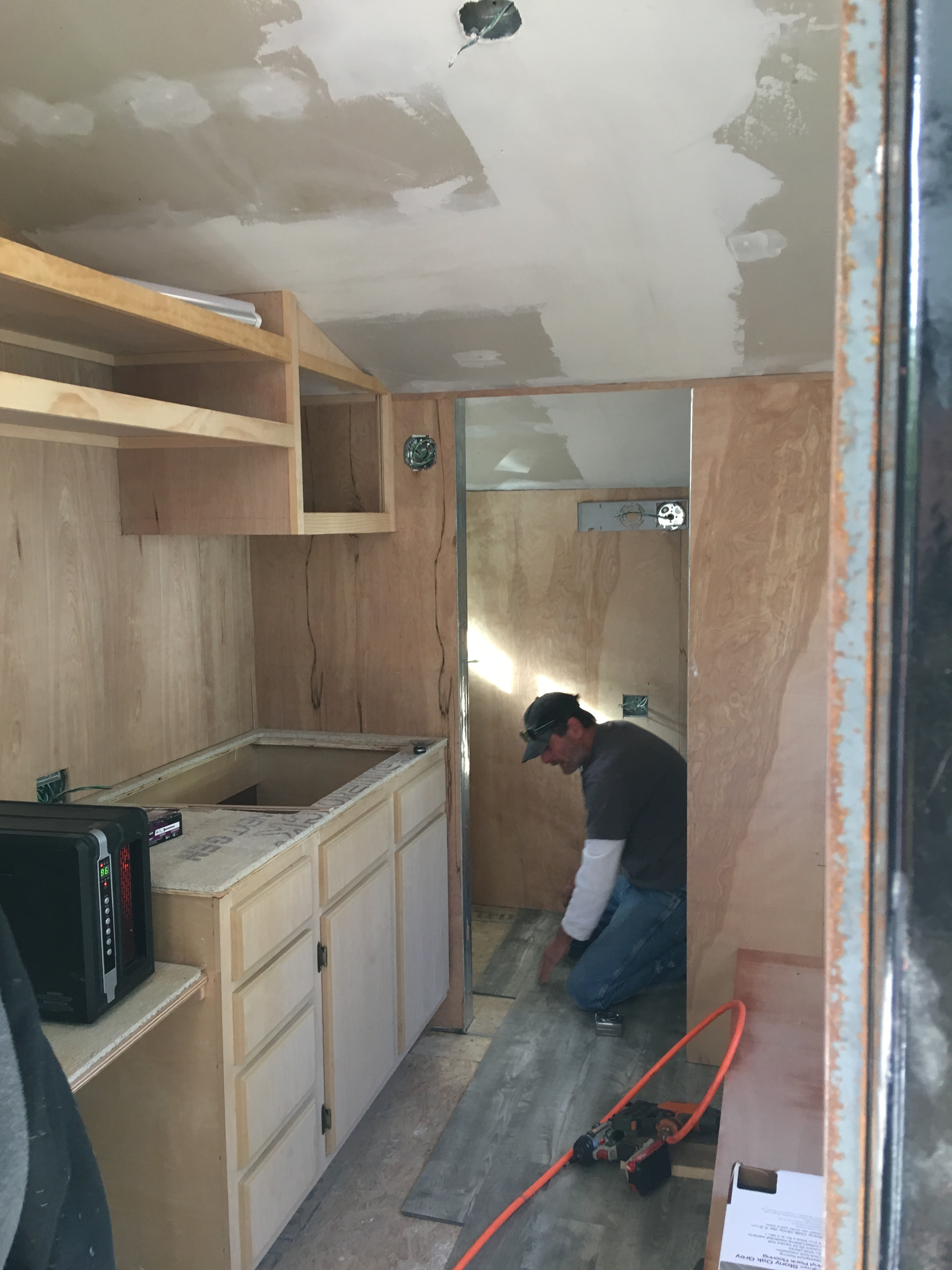 CM 5 Rough Cabinetry