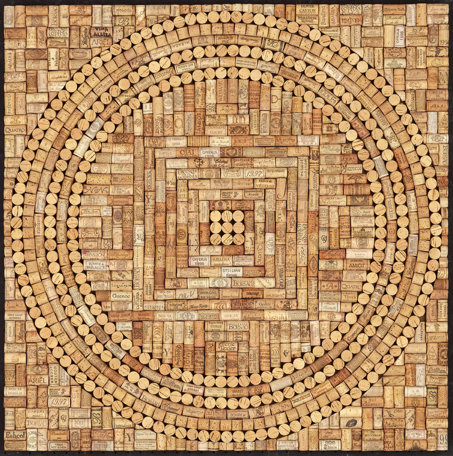 Wine Cork Mandala