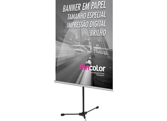 Banner em Lona 1un 50x70m