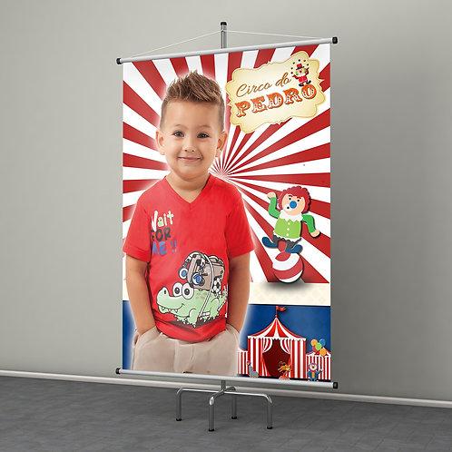 Banner em Lona 1un 80x1,20m
