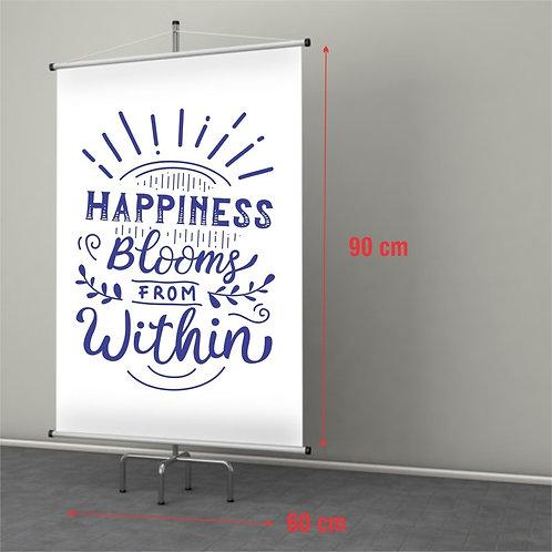 Banner em Lona 1un 60x90m
