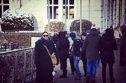 Cold day in Salzburg, Jan. 2017