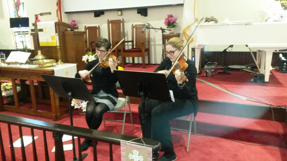 Easter 2016 Violin Duo