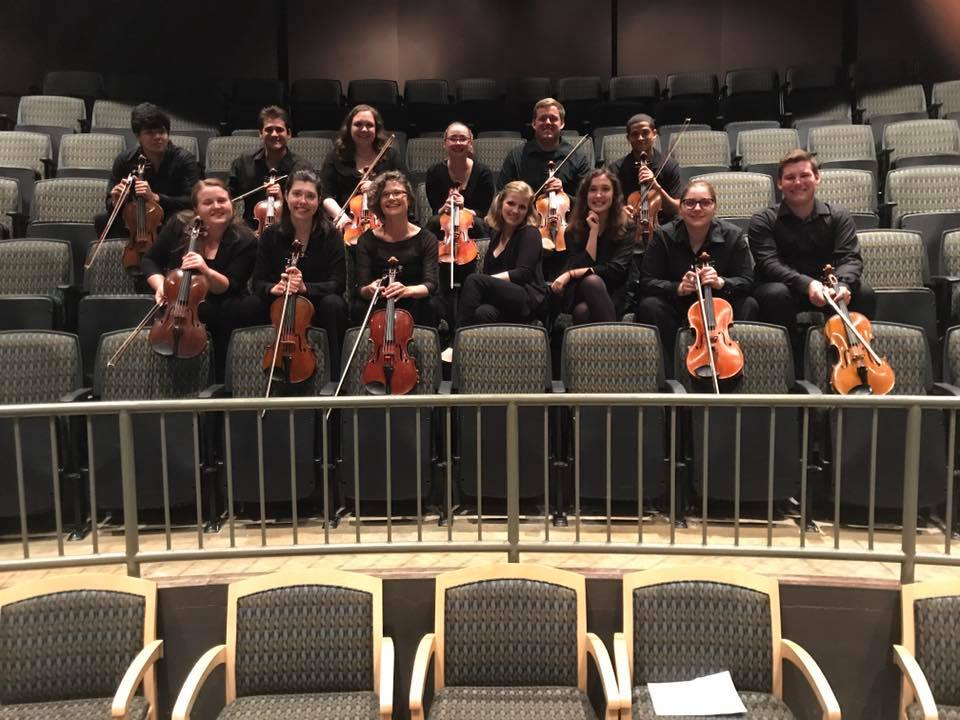 NMF2017 Viola Section