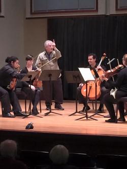 Juilliard String Quartet Masterclass