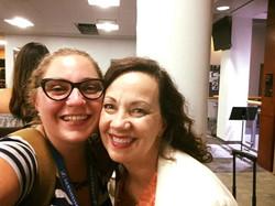 with Lauren Kinhan