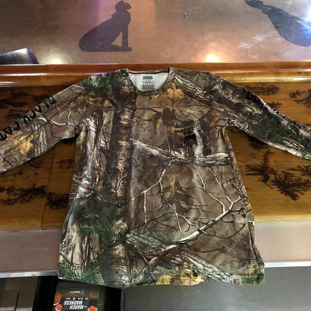 Camo Long Sleeve Shirt