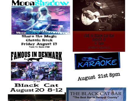 August 2021 Band Schedule & Entertainment