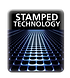 logo stamped grid technology