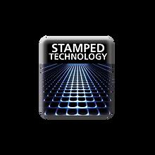 stamped grid
