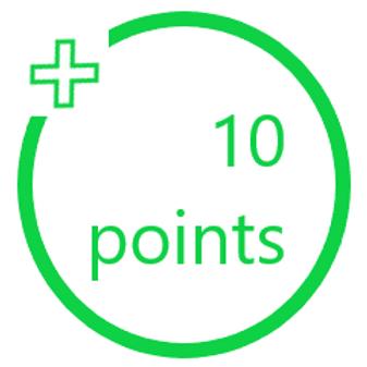 10 PiggyBack Points