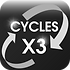 AGM batterie cycle x3