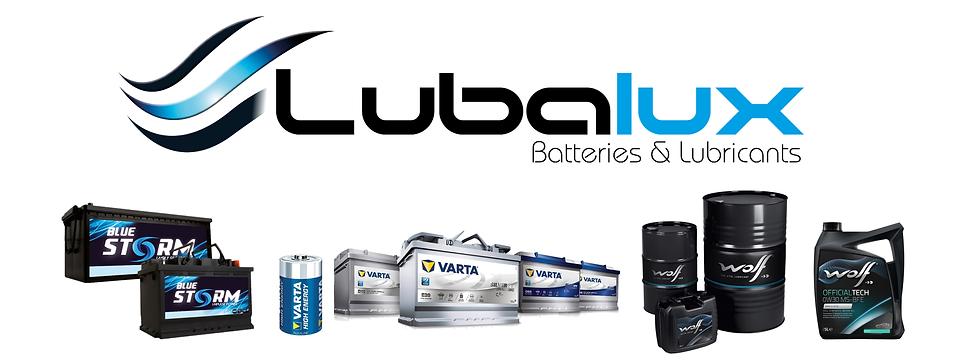 Batteries lubrifiants lubalux varta wolf