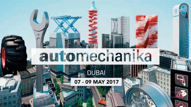 Visit our booth during Automechanika Dubaï 2017! Visitez notre stand sur Automechanika Dubai 2017 !