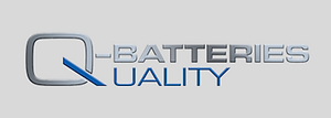 logo q batteries