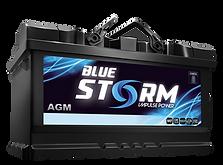 Blue Storm battery