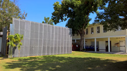 Privacy fence for construction
