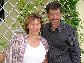 Olga and Caleb Lapp