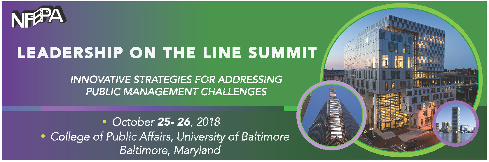 Leadership on the Line Summit Info Relea