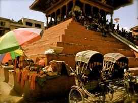 Kathmandu, Nepal steps and umbrellas.jpg