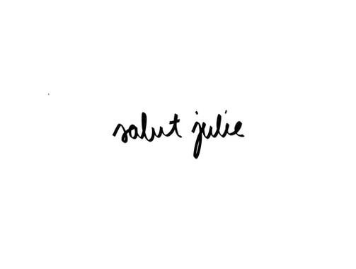 salut julie
