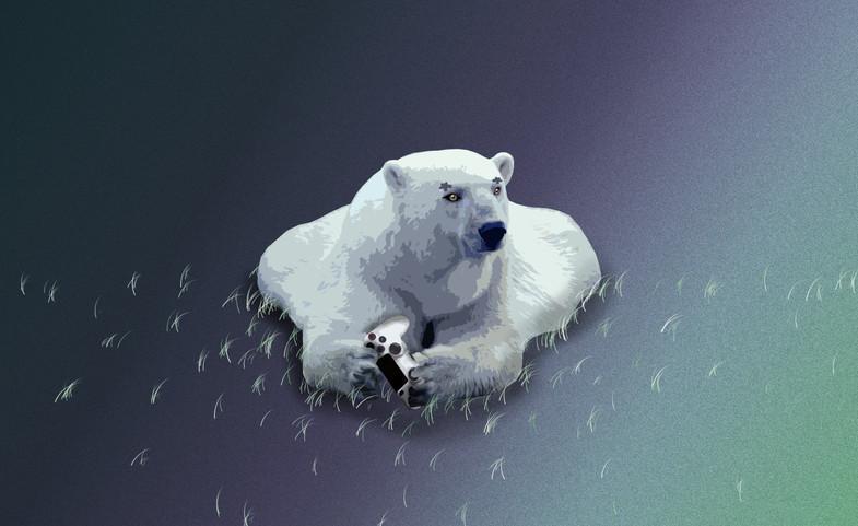 Gaming bear