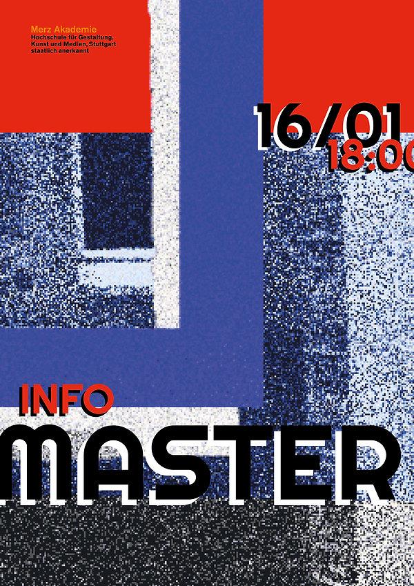 Merz Akademie Master Poster