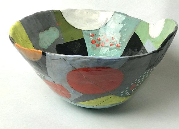 Hand built salad bowl