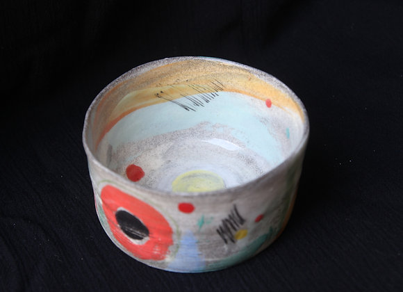 Painted snack bowl (SC)
