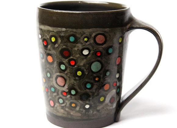 Tall hand painted Mug