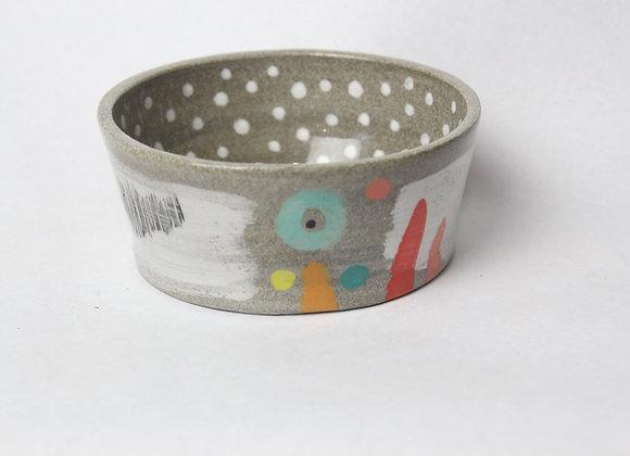 small polka dot bowl