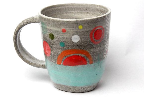 Granite clay mug