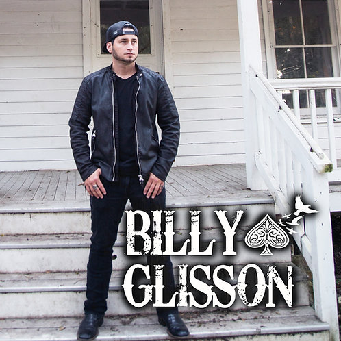 "Billy Glisson ""Self-Titled"" Album (Physical CD)"