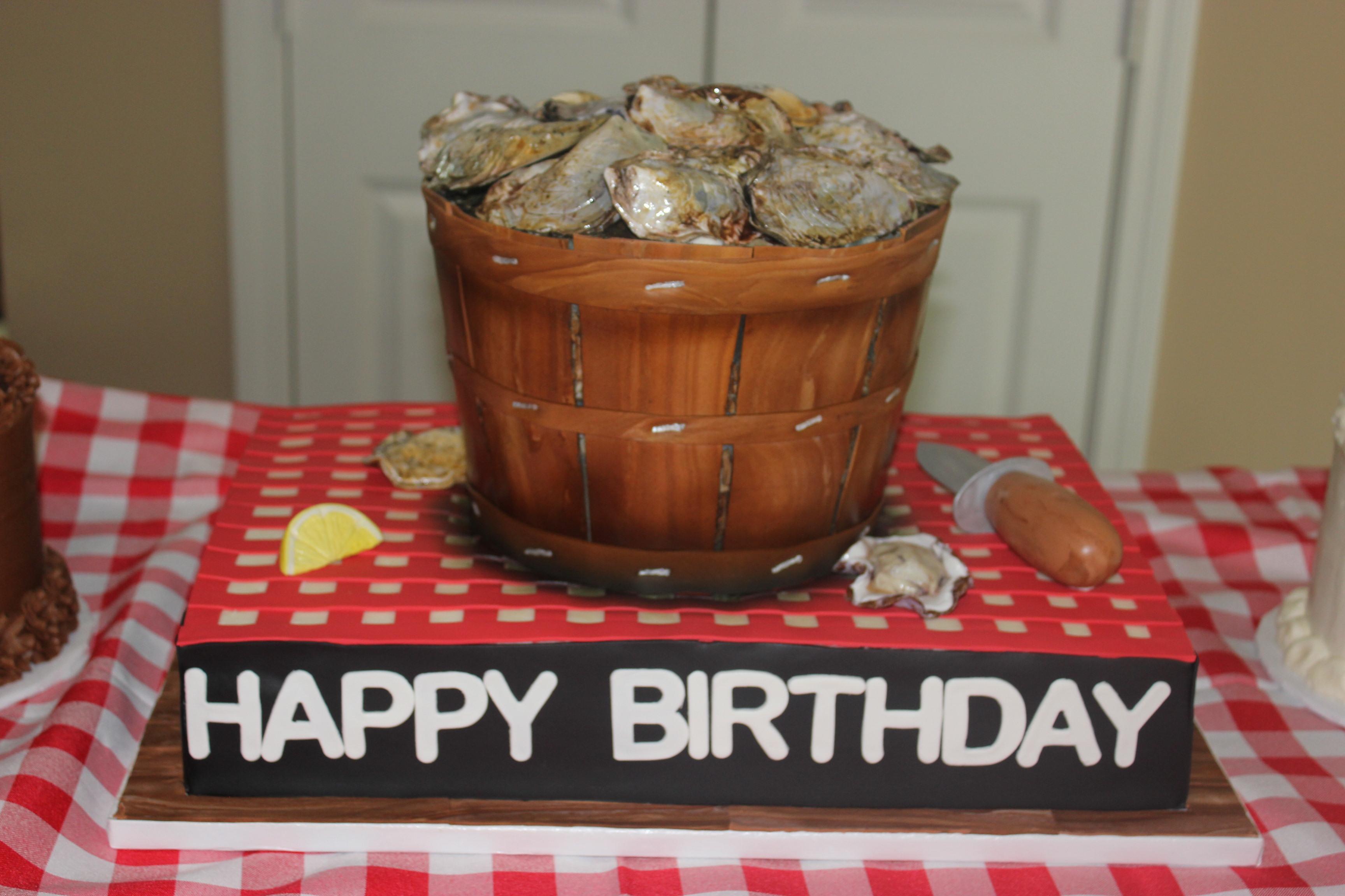 Oyster Roast Cake